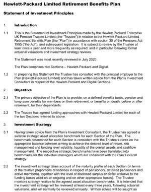 Statement of Investement Principles 2020